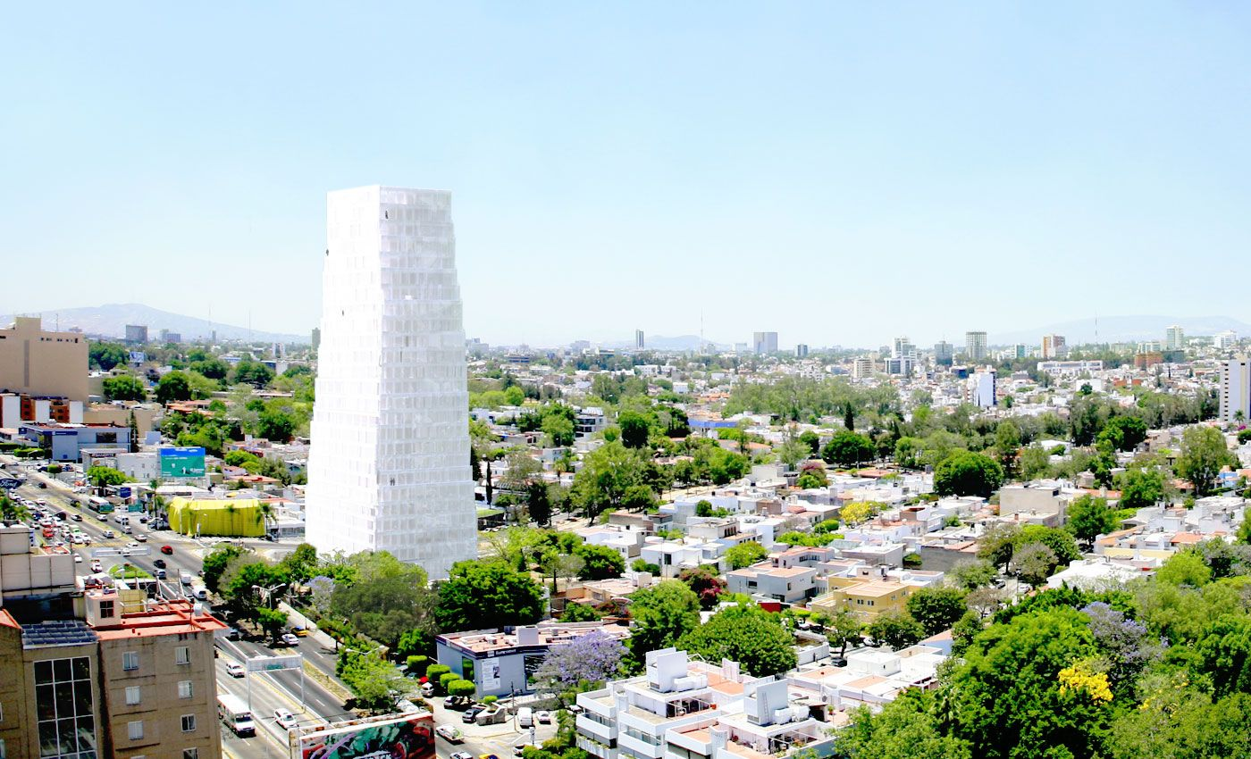 SANAA Neruda Tower in Mexico