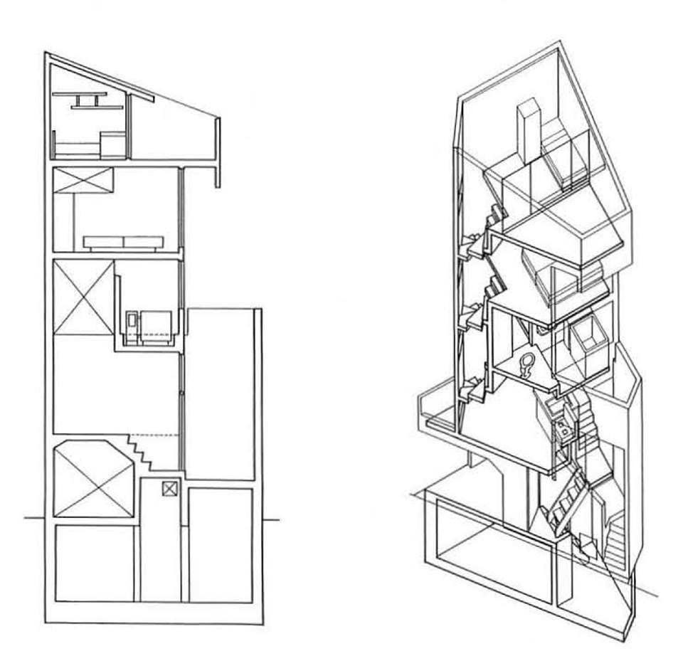 Tower house takamitsu azuma archeyes for Tower house plans