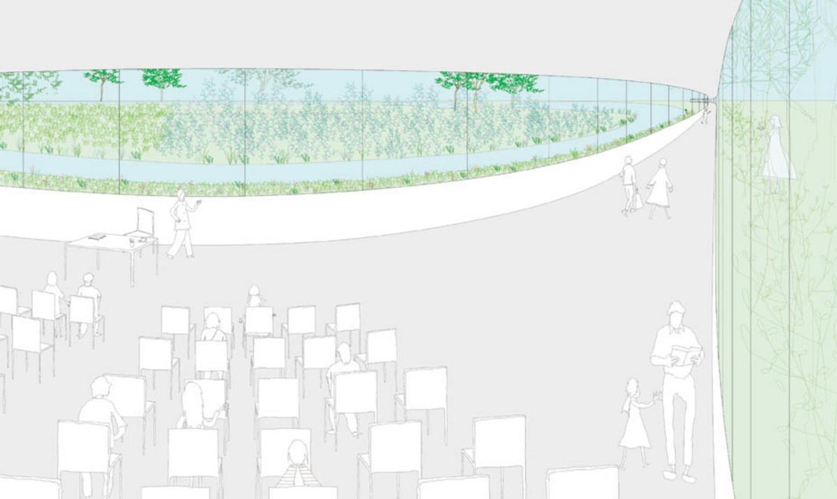 Park Groot Vijversburg in Netherlands / Junya Ishigami + Associates & Studio Maks