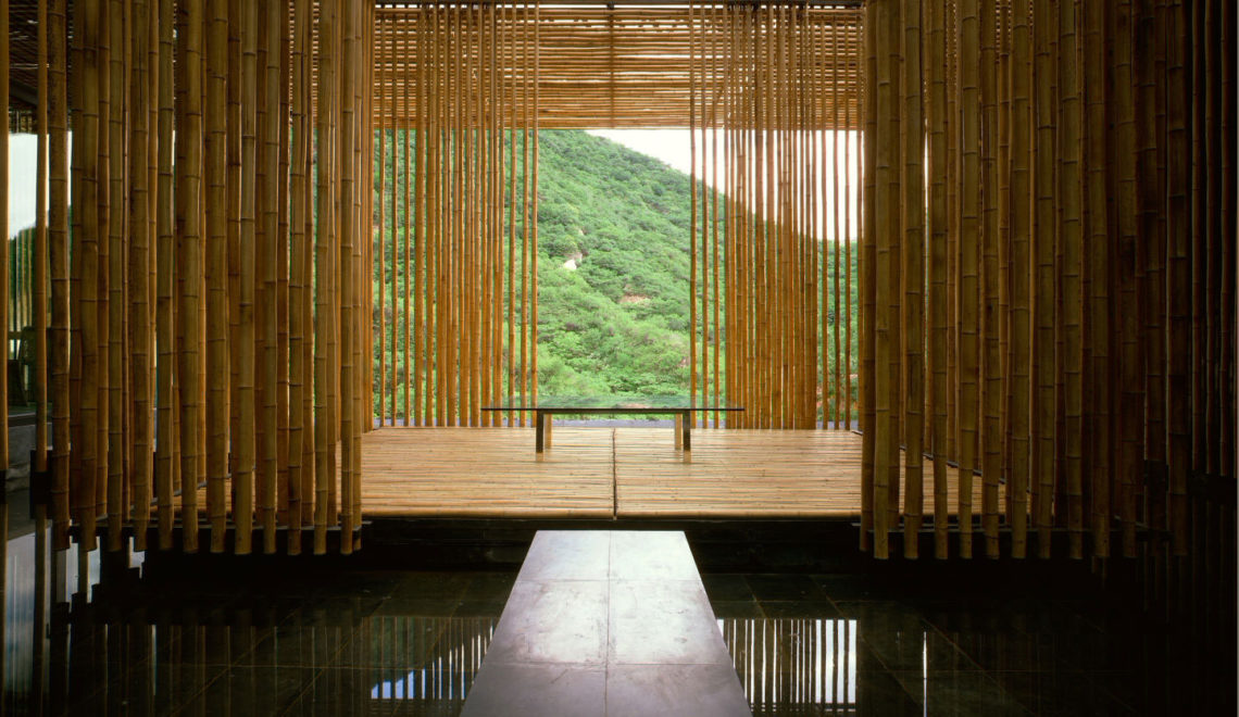 KENGO KUMA & ASSOCIATES / Great (Bamboo) Wall