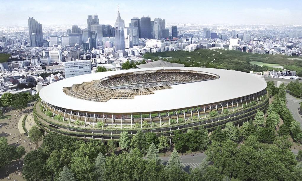 Tokyo Olympic Stadium 2020 / Kengo Kuma