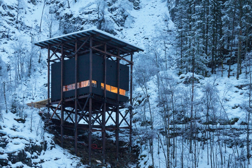 Peter Zumthor: Zinc Mine Museum Project, Norway