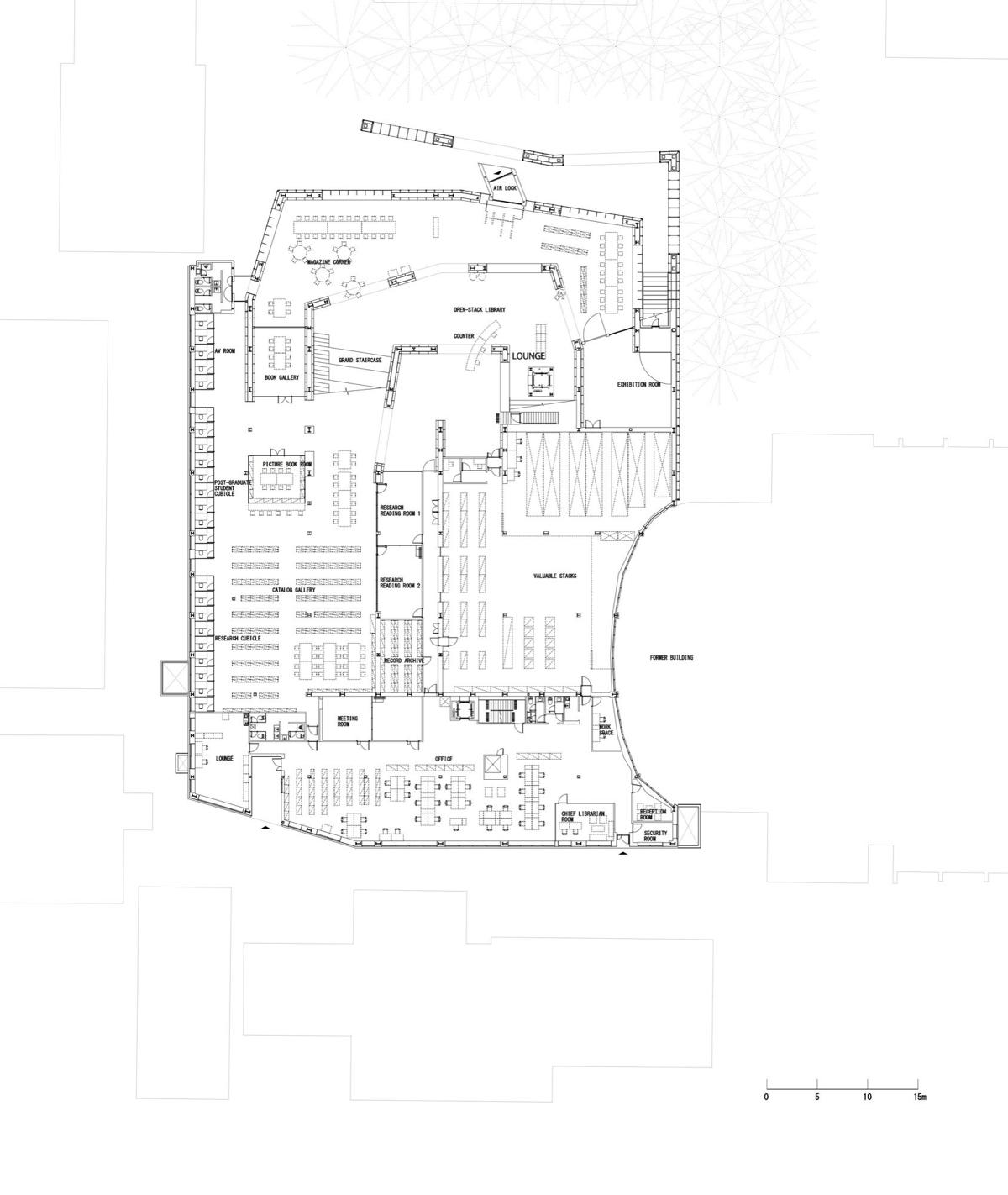 musashino art university museum library sou fujimoto archeyes