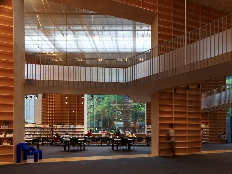 Sou Fujimoto Musashino library