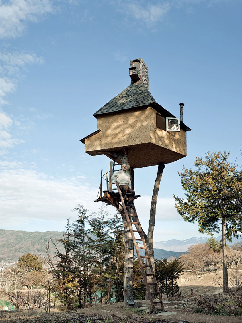 Japanese teahouses in trees by terunobu fujimori archeyes for Modern japanese tea house design