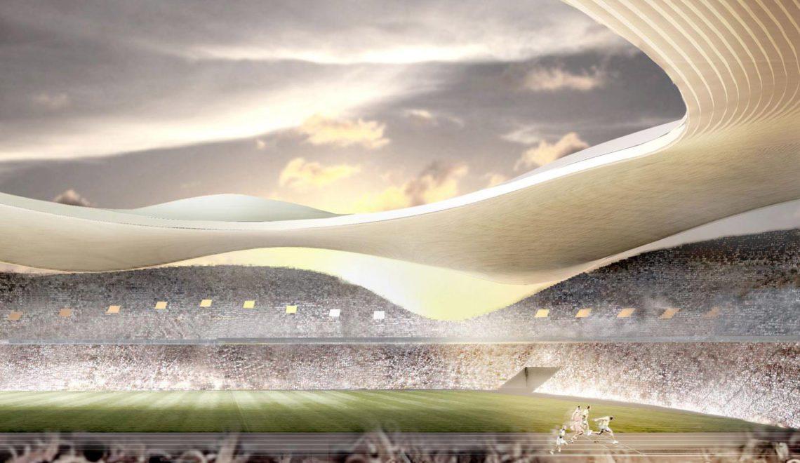 Tokyo 2020 Olympic Stadium proposal / SANAA + Nikken Sekkei