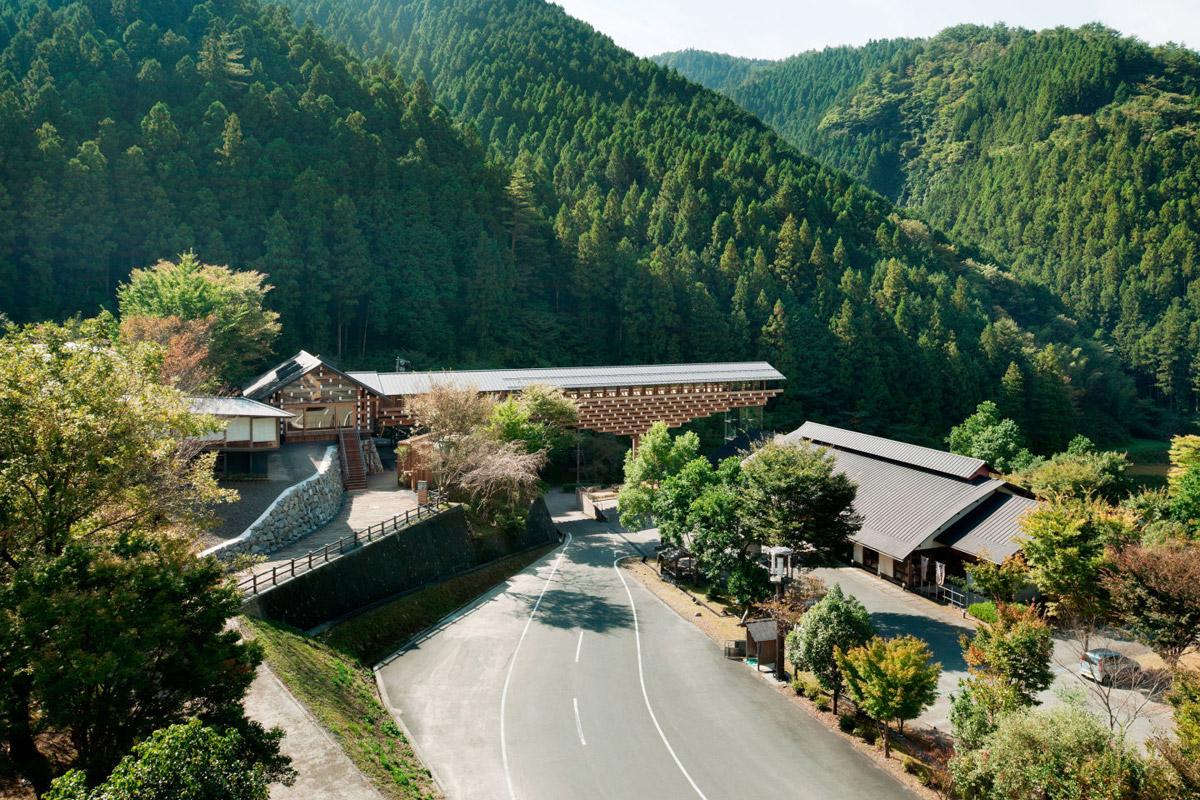 Yusuhara Wooden Bridge Museum Kengo Kuma Amp Associates