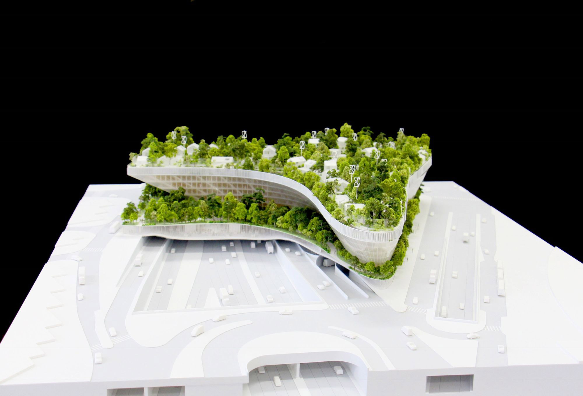 milles arbres in paris sou fujimoto oxo architectes archeyes. Black Bedroom Furniture Sets. Home Design Ideas