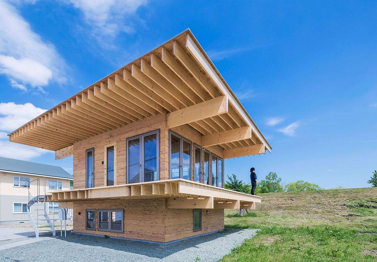 Hat H House In Hokkaido Jun Igarashi ⋆ Archeyes