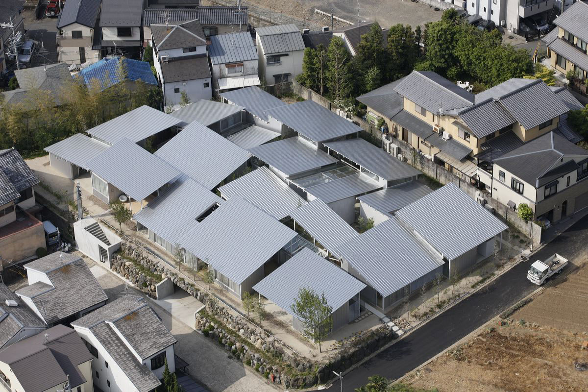 Nishinoyama house in kyoto kazuyo sejima archeyes for Projects house