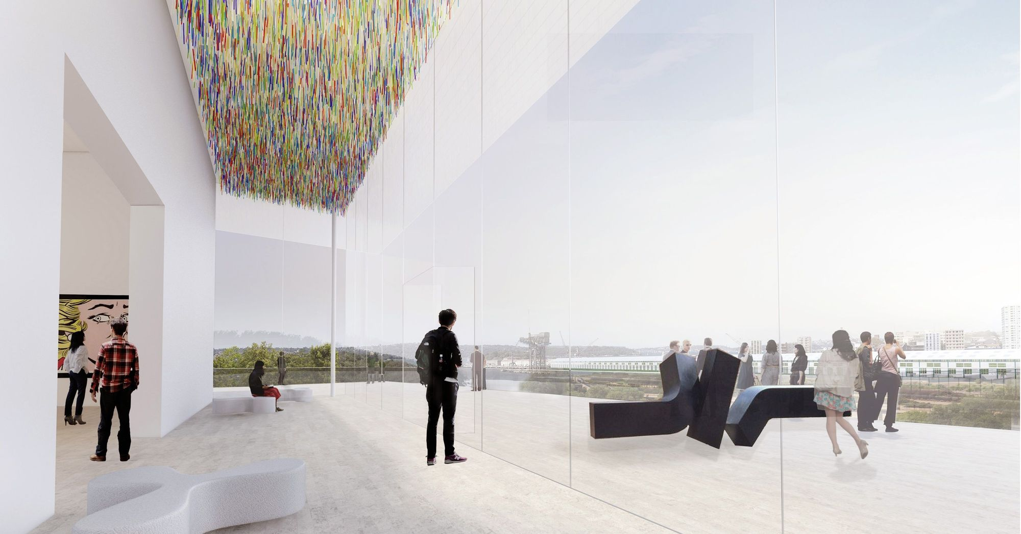 Sydney Art Gallery Of New South Wales Expansion Sanaa