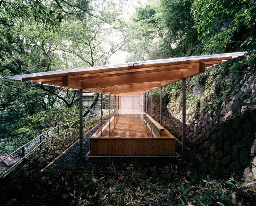 Horai Onsen Bath House / Kengo Kuma ⋆ ArchEyes
