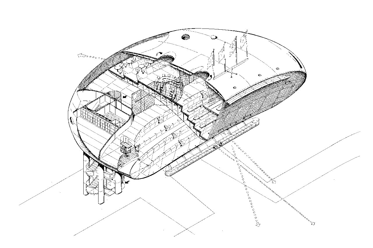 Jan Kaplický Drawings / Future Systems