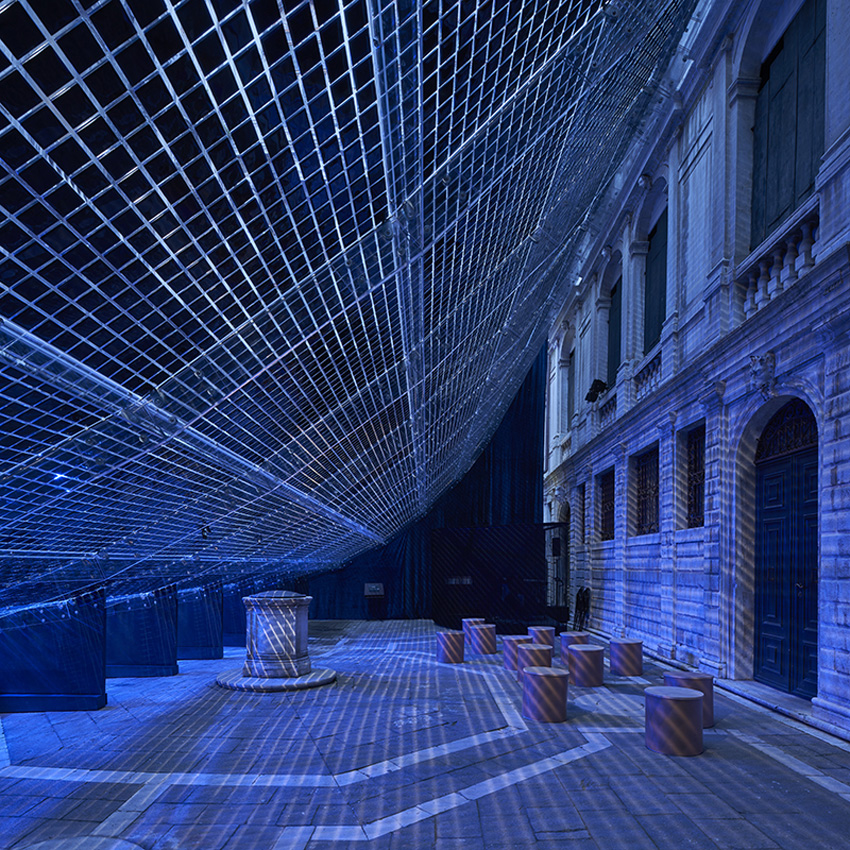 Pavilion of Light and Sound: Reverberation / Shigeru Ban