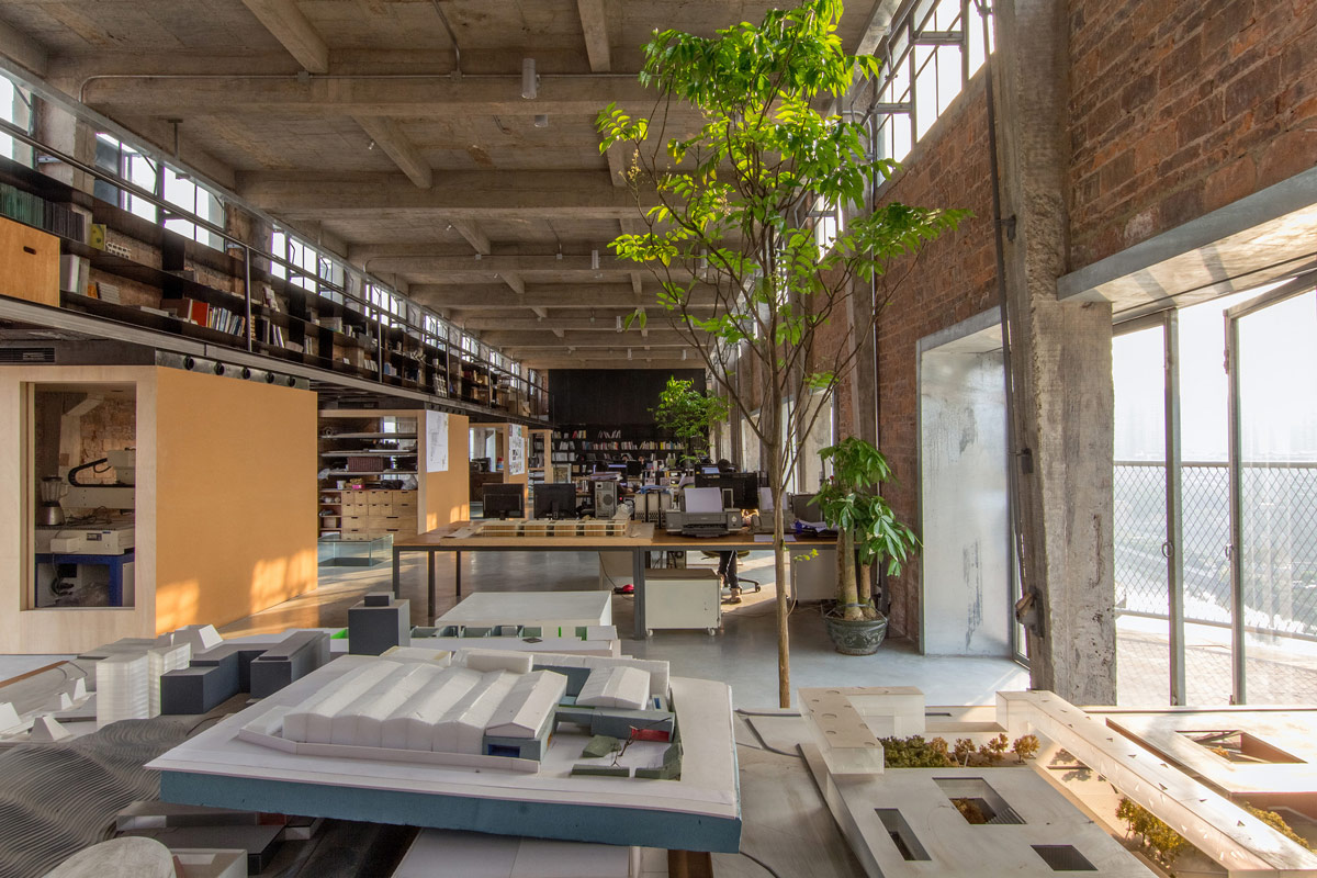 Silo top studio o office architects archeyes for Top interior architects