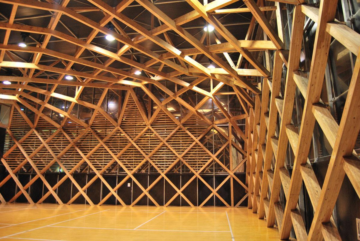 Tomochi Forestry Hall Taira Nishizawa ⋆ Archeyes