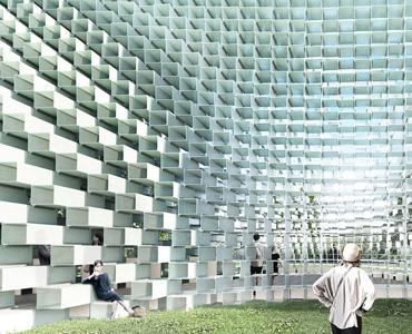 Fibreglass in Architecture