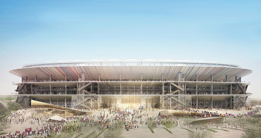 New Camp Nou Stadium / Nikken Sekkei