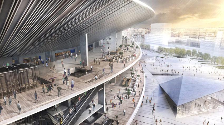 New Camp Nou Stadium / Nikken Sekkei