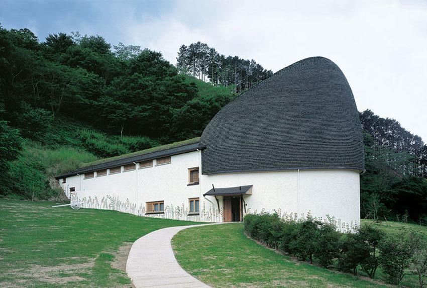nemunoki children 39 s museum of art terunobu fujimori archeyes. Black Bedroom Furniture Sets. Home Design Ideas