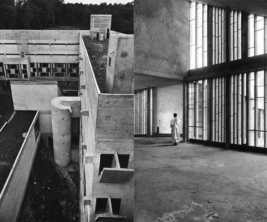 Sainte Marie de La Tourette Archives by Le Corbusier