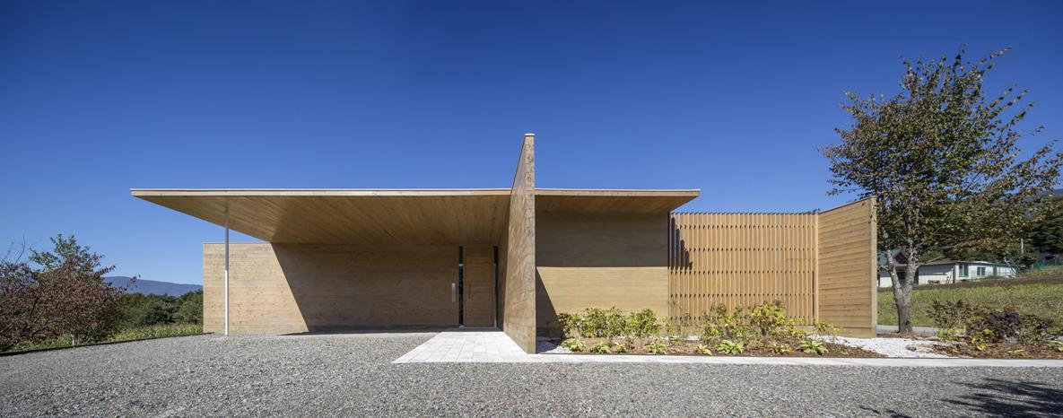 Solid Cedar House / Shigeru Ban