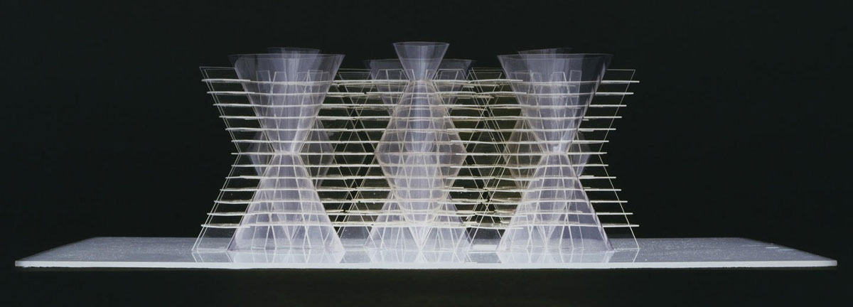The Golgi Structure by Fumihiko Maki, 1968