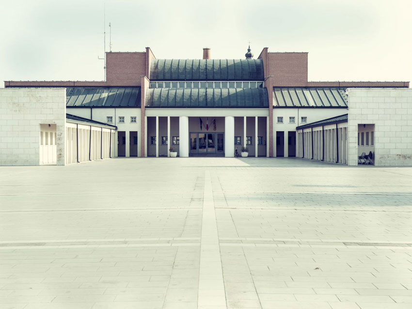 Town hall of Borgoricco / Aldo Rossi