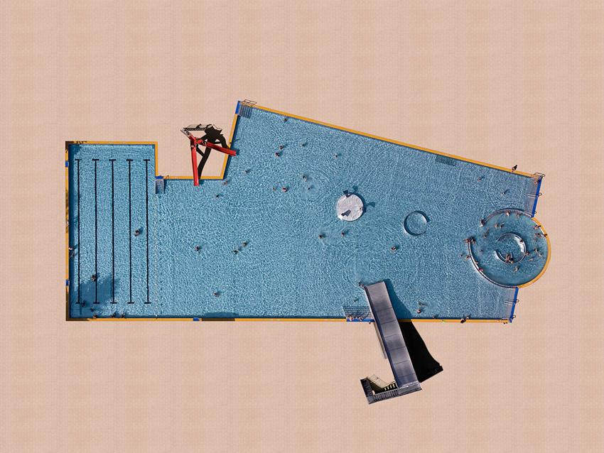 10 Amazing Aerial Swimming Pools Photographs / Stephan Zirwes