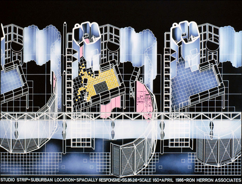 Studio Strip / Ron Herron (Archigram)