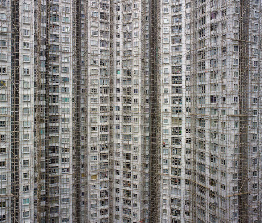 "Hong Kong ""Architecture of Density"" by Michael Wolf"