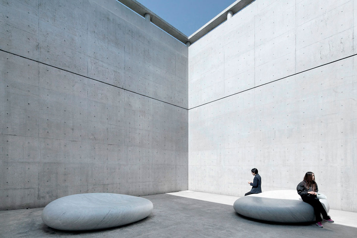 All White Rooms Benesse House Museum Tadao Ando ⋆ Archeyes