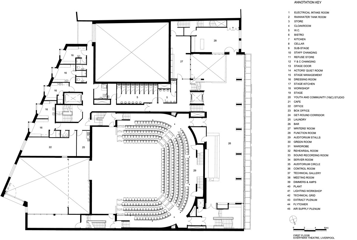 Liverpool Everyman Theatre Plans