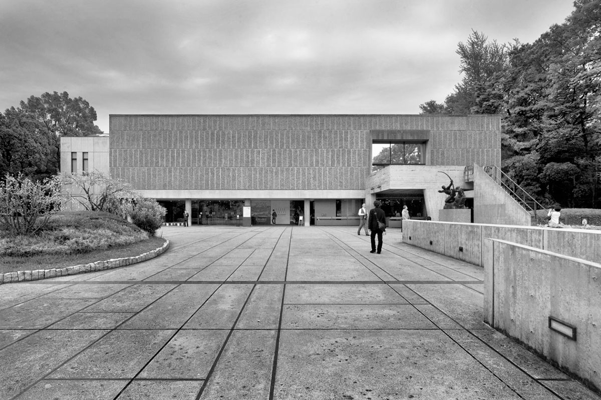 National Museum of Western Art in Tokyo / Le Corbusier
