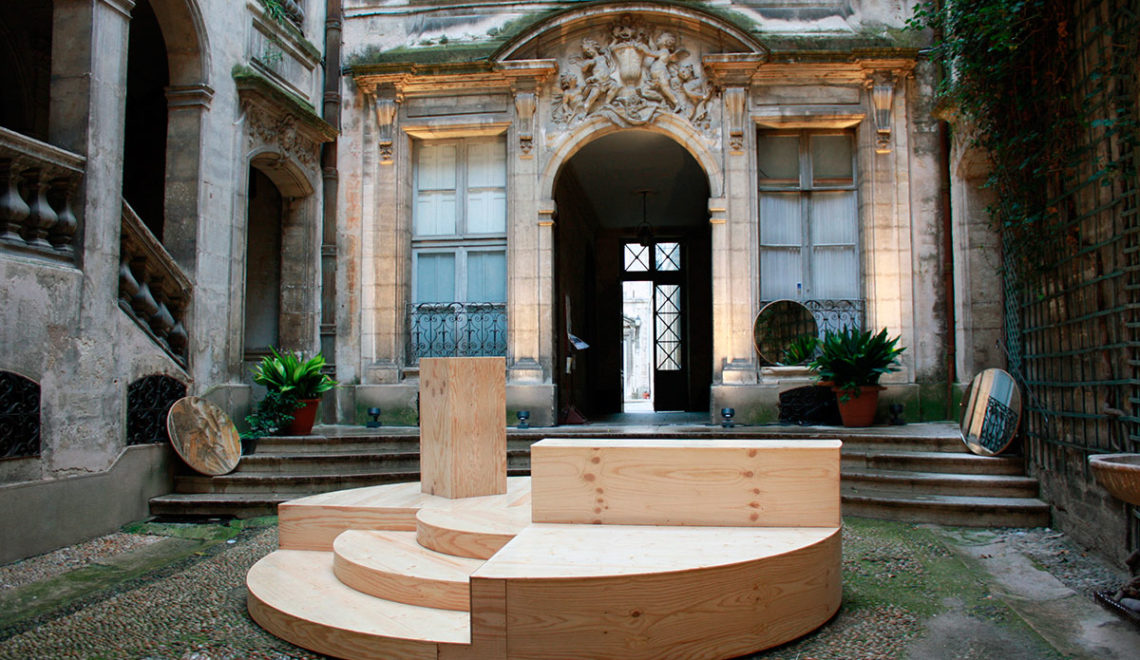 Festival des Architectures Vives Installation / Pseudonyme Architects
