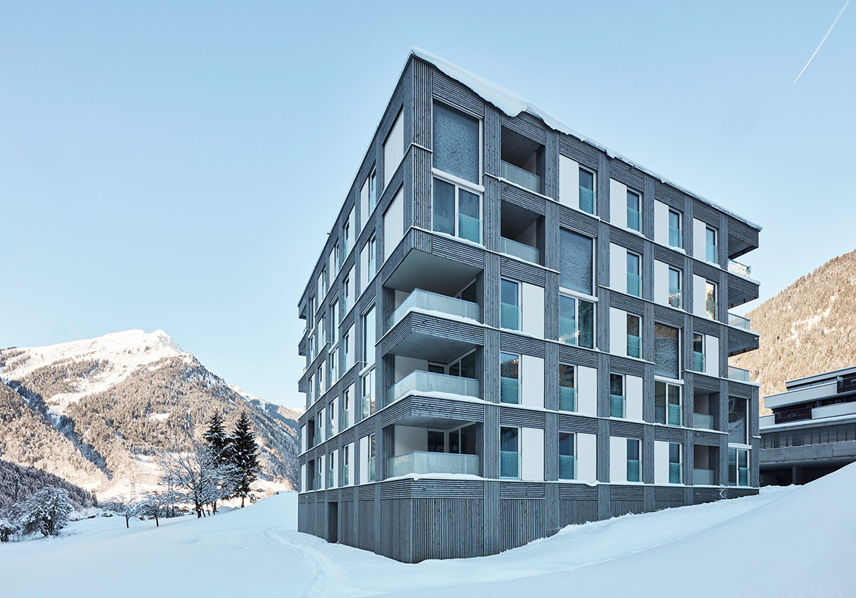 Passivhausanlage Apartments / D O R N E R \ M A T T  Architects