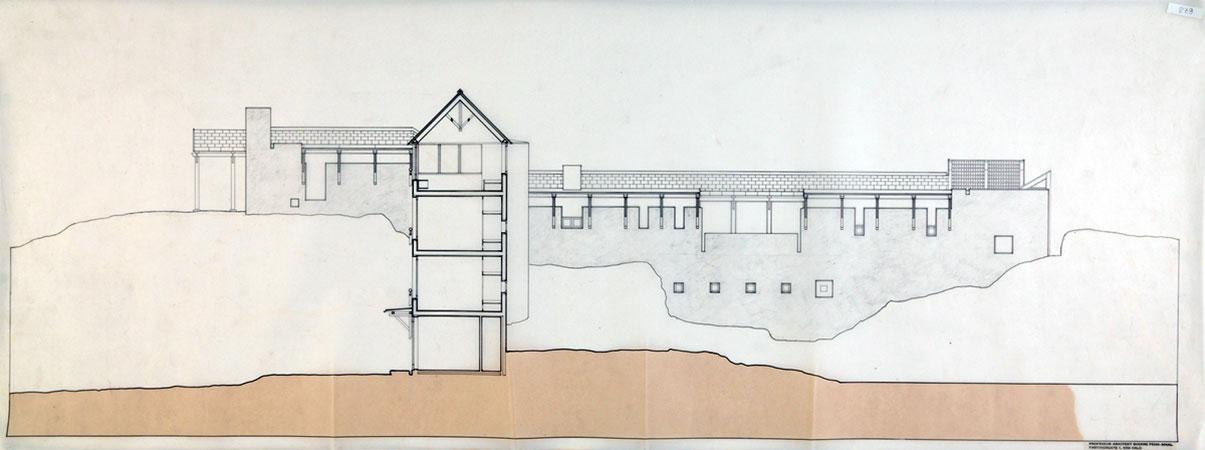Busk Section by Sverre Fehn