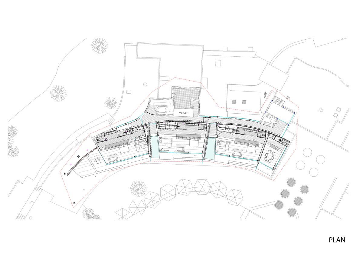 Japanese House Floor Plan Therme Suiteroom Vals Kengo Kuma ⋆ Archeyes