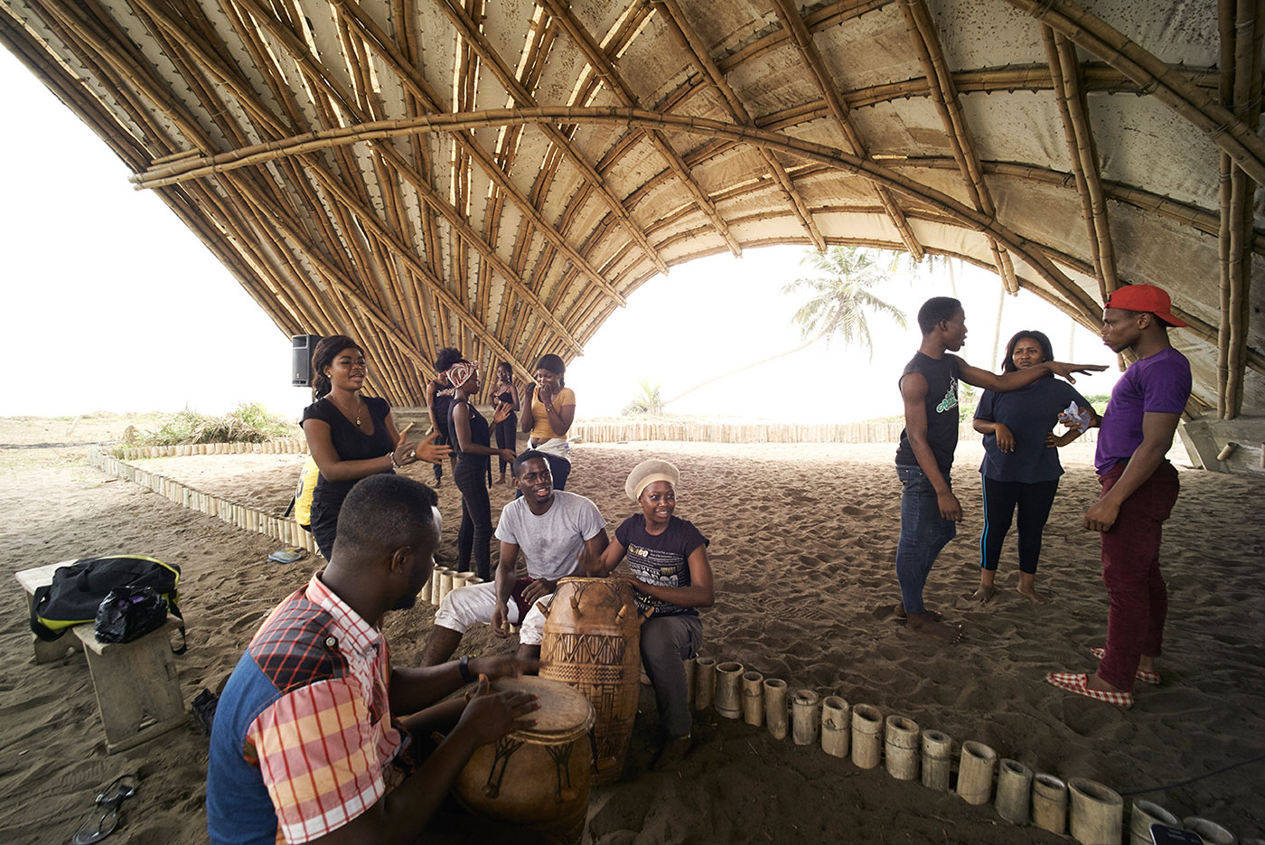 Haduwa Arts & Culture Institute Stage / [a]FA _ [applied] Foreign Affairs