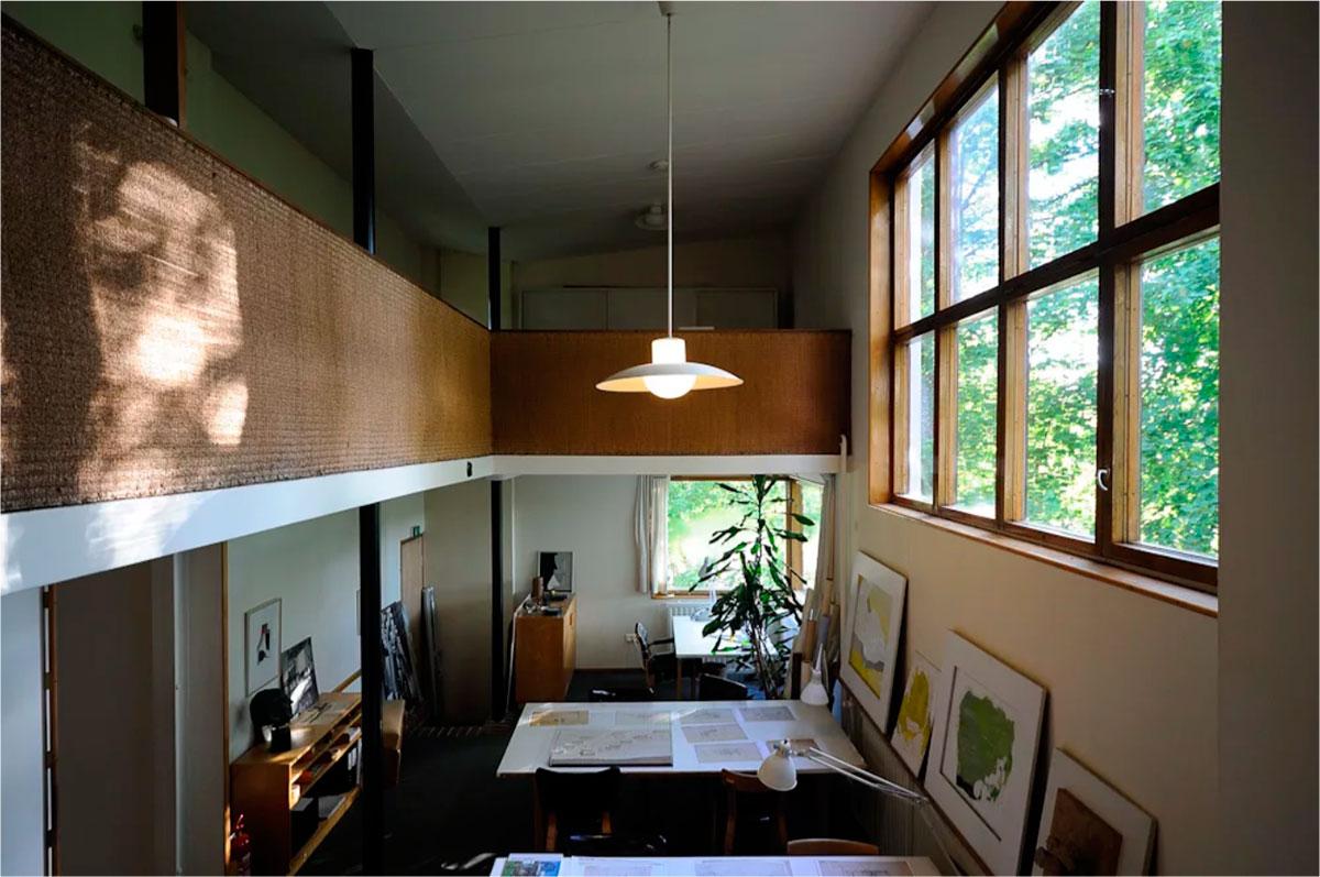 Alvar Aalto Experimental House Interior