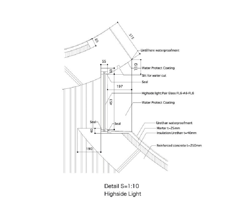 Church Of Light Floor Plan Part - 35: Shonan Christ Church / Takeshi Hosaka Architects