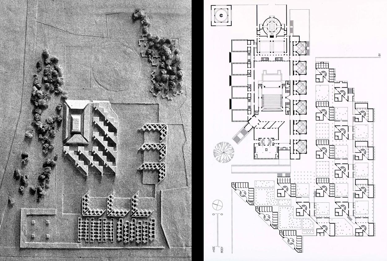 Louis Kahn Floor Plans Indian Institute Of Management Louis Kahn ⋆ Archeyes