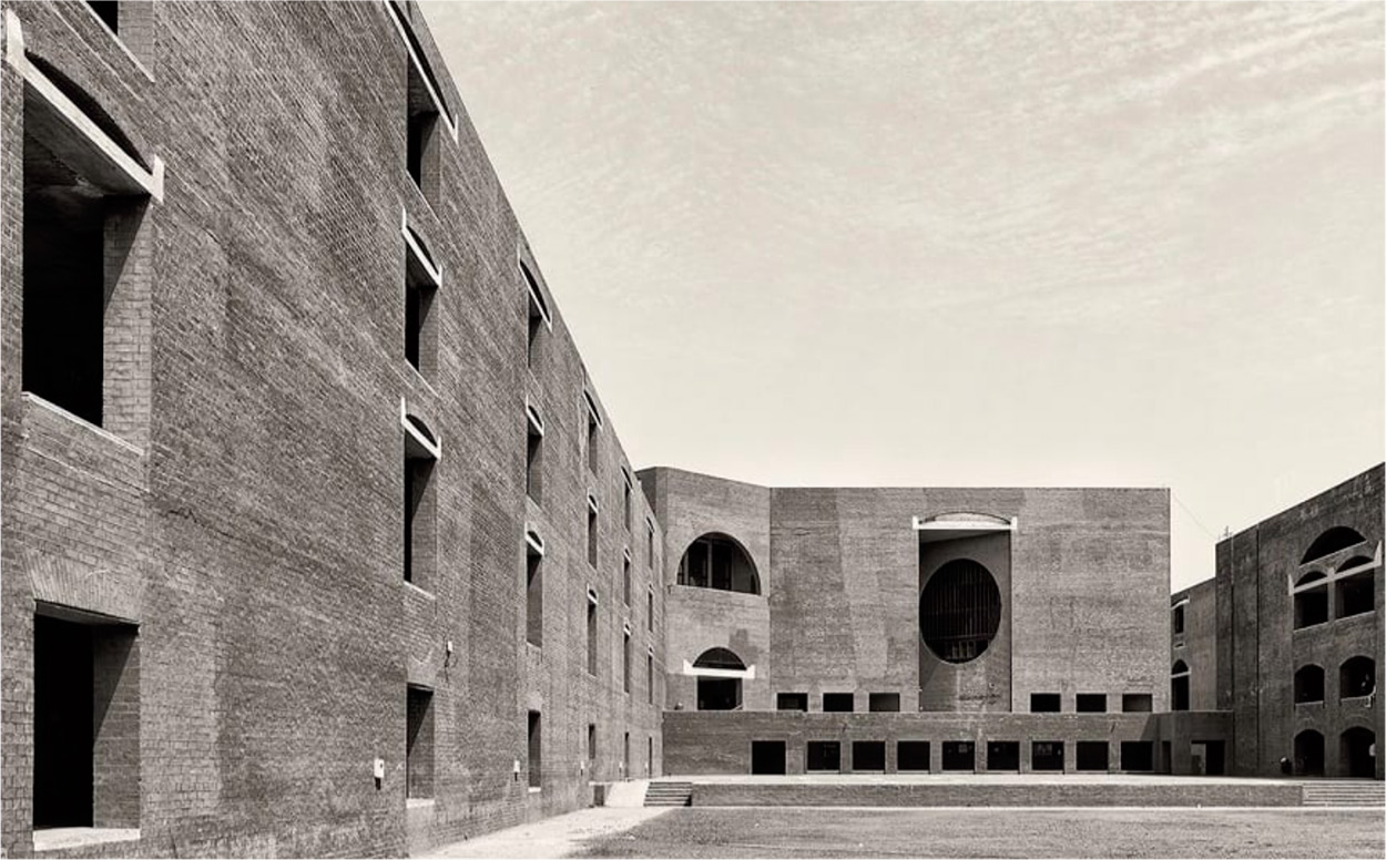 Indian institute of management louis kahn archeyes for Louis i khan