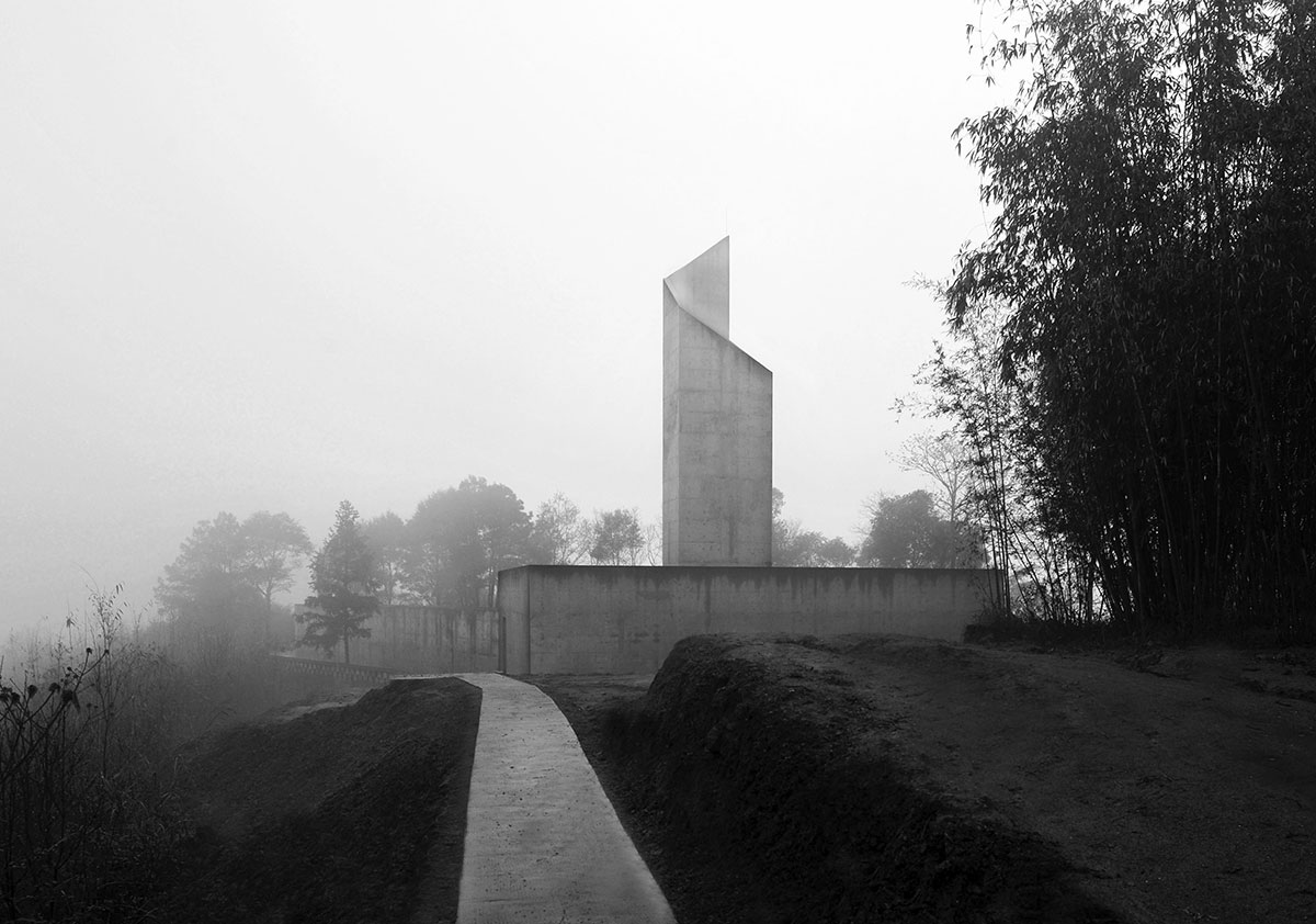 Concrete Memorial / West-line-studio
