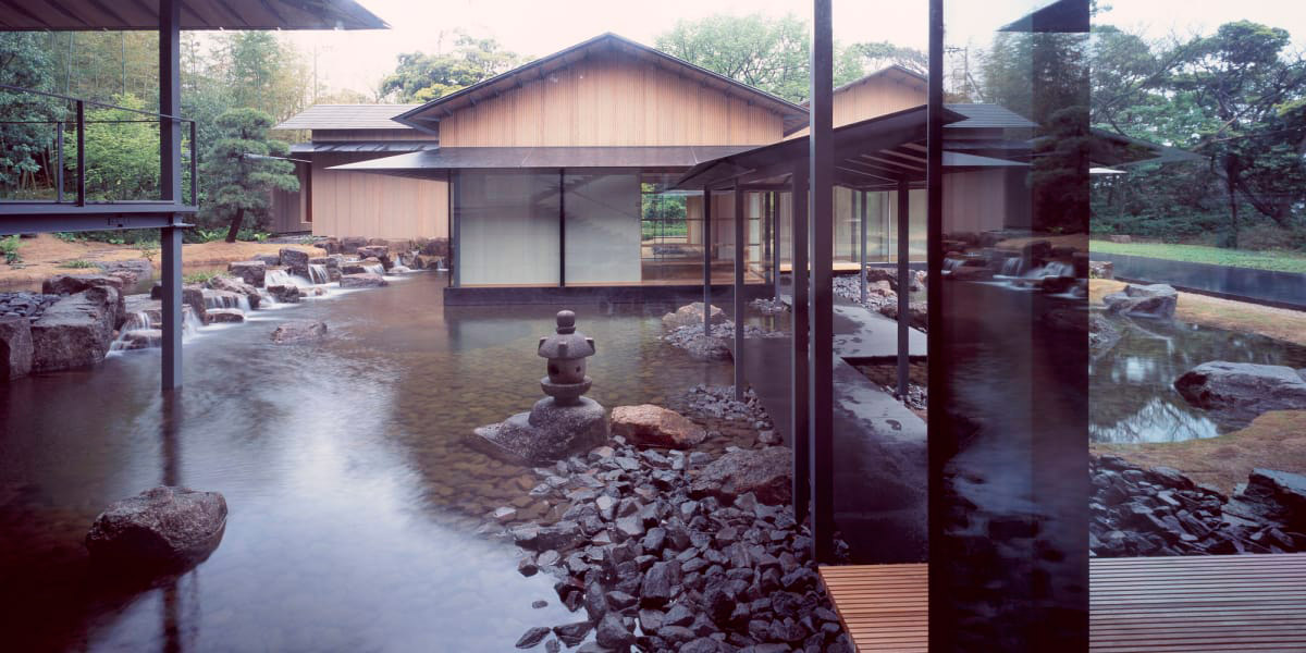 Water and Cherry House / Kengo Kuma & Associates