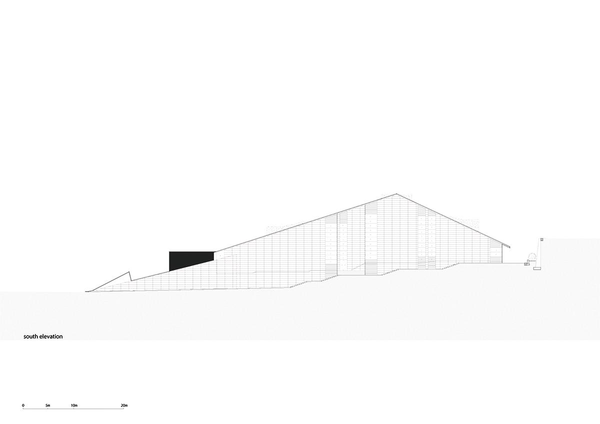 Danxia Exhibition Center Elevation