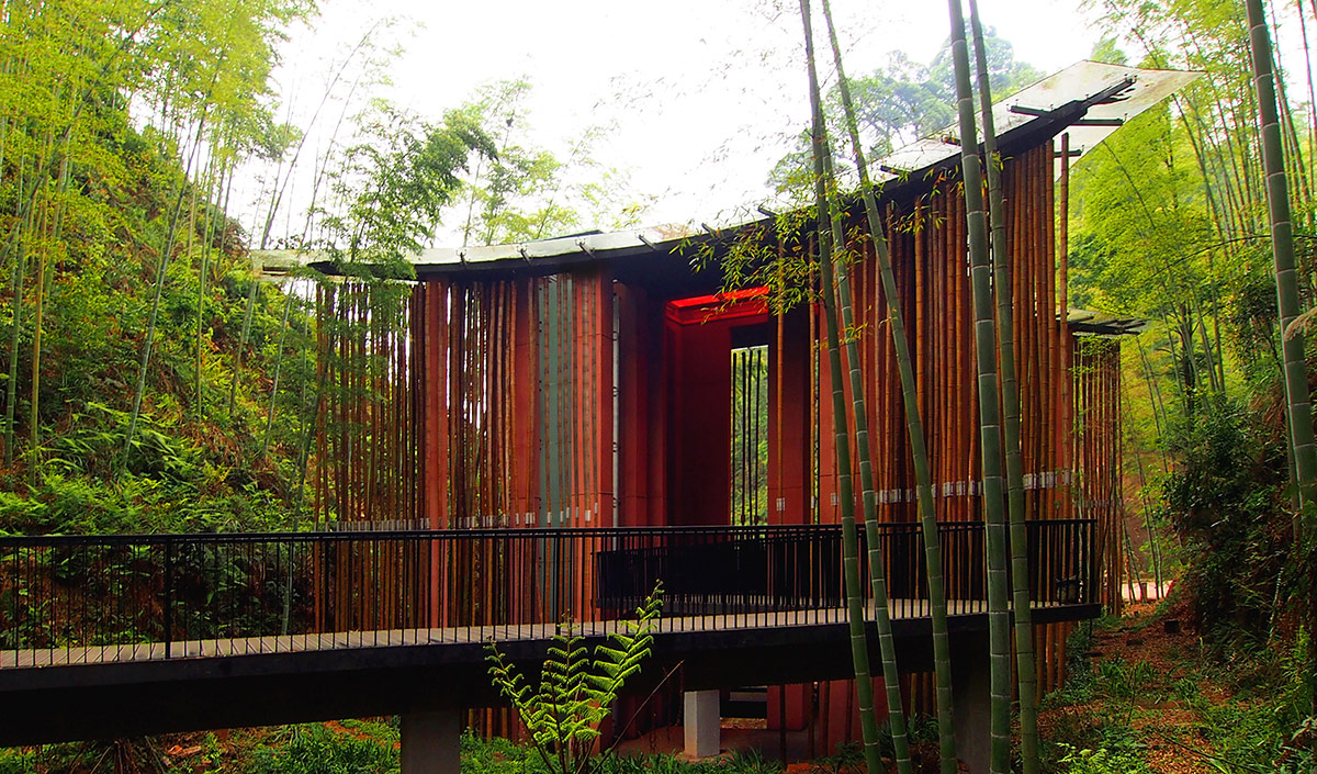 Bamboo Gateway / West-line-studio