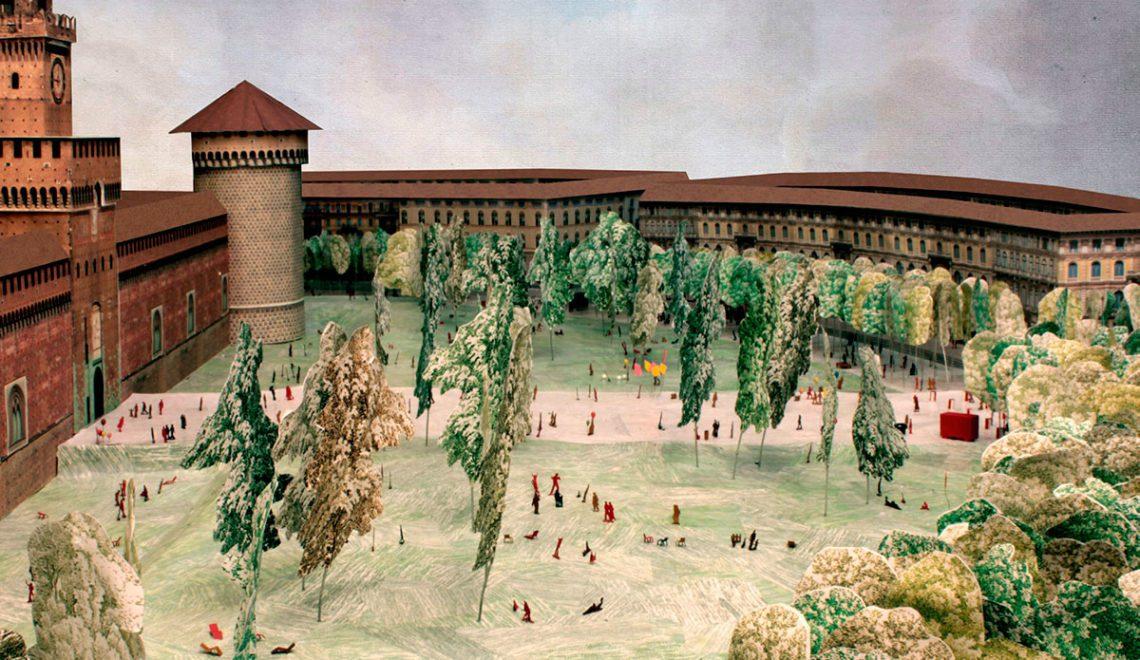 Piazza Castello / Onsitestudio