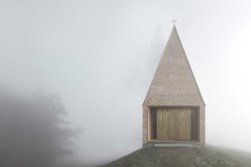 Salgenreute Chapel / Bernardo Bader Architects