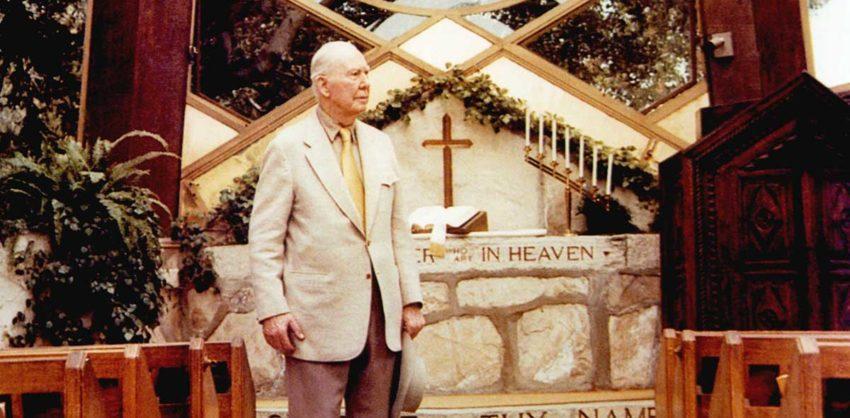 Lloyd Wright at Wayfarers Chapel